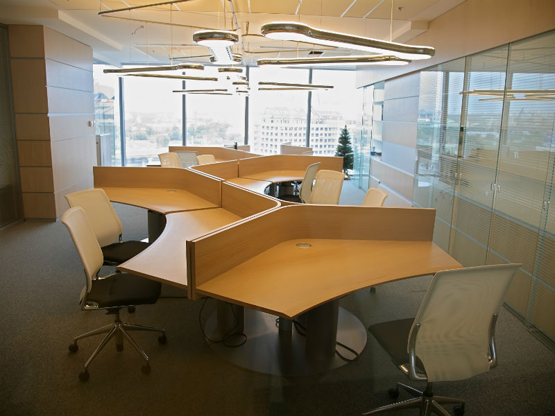 Picture to illustrate office space planning