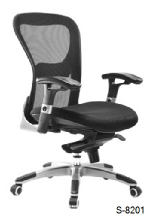 S-8201 Mid, High Back Office Chair