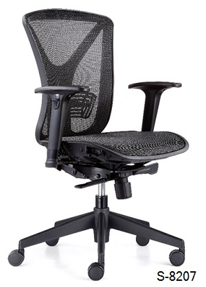 S-8207 Mid, High Back Office Chair